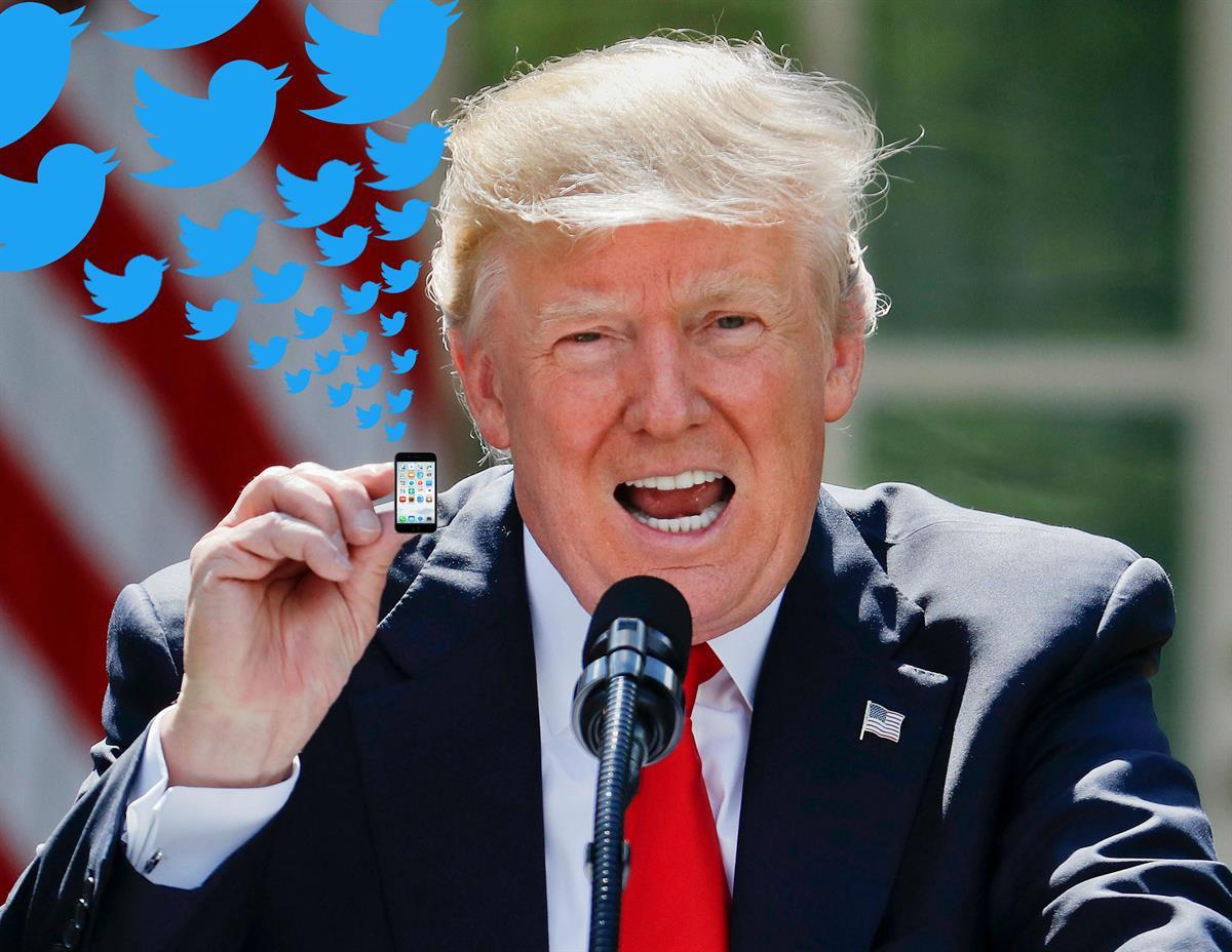 President Donald Trump in the Rose Garden of the White House in Washington—Thursday, June 1, 2017 (AP/Rantt NewsEdits)