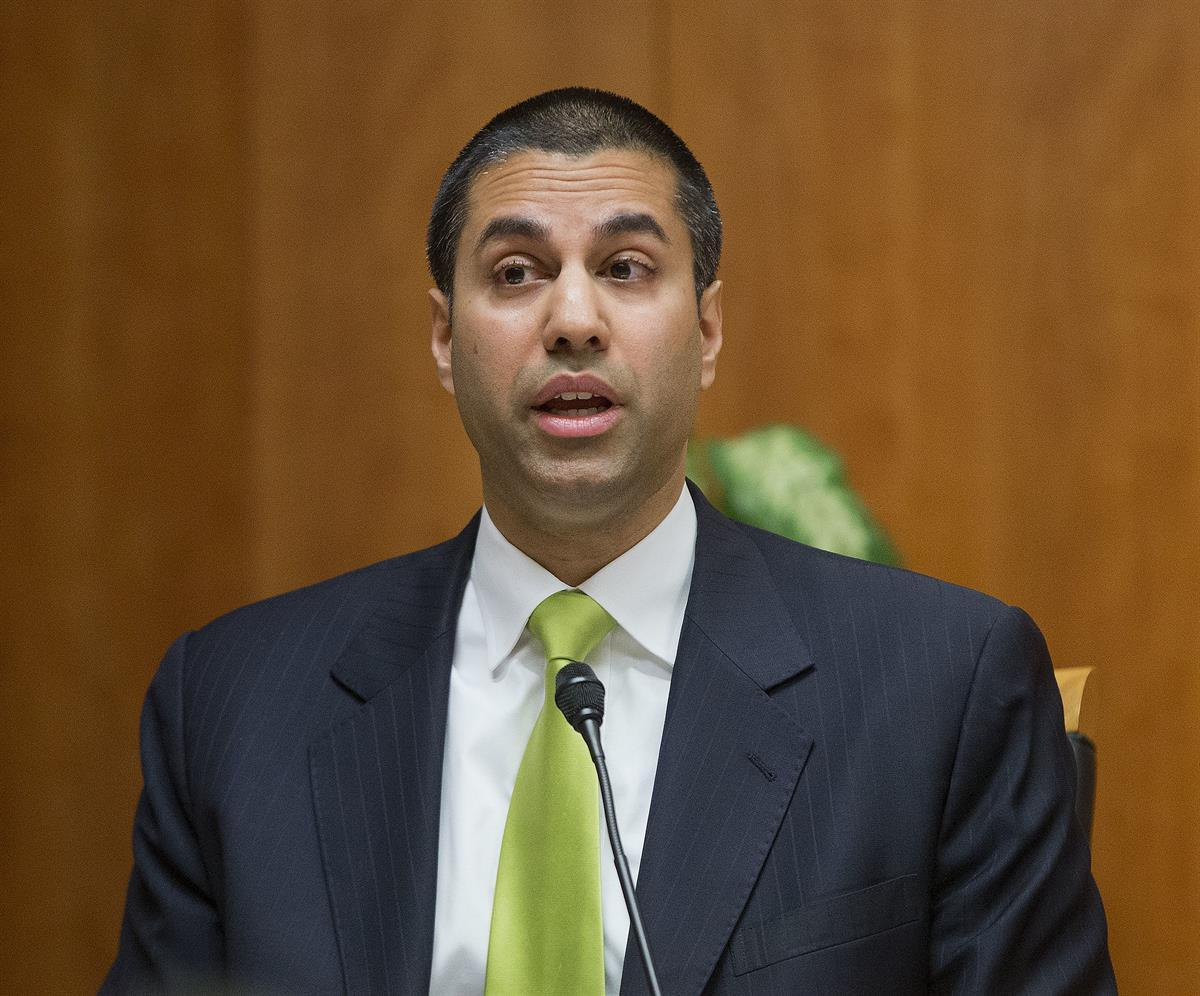 Chairman of the Federal Communications Commission Ajit Varadaraj Pai (AP Photo/Pablo Martinez Monsivais, File)
