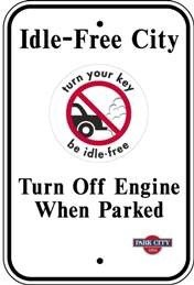 Vehicle idling over 1 minute is prohibited within Park City limits.