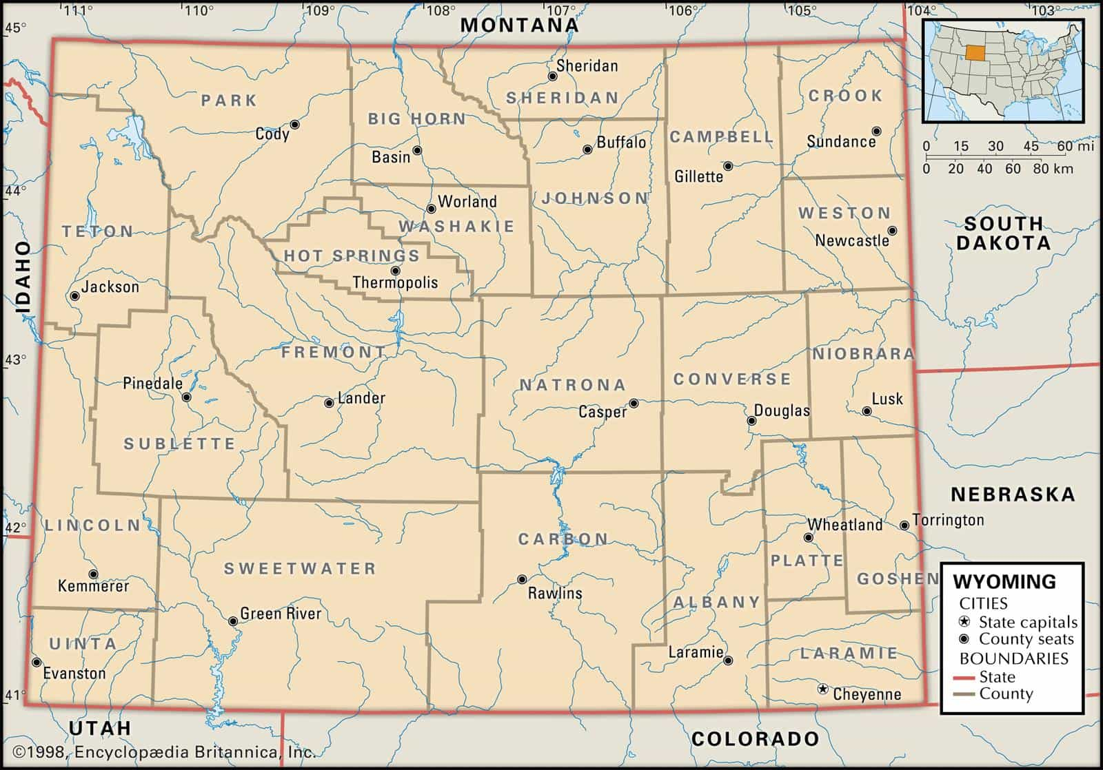 Historical Facts Of Wyoming Counties Guide