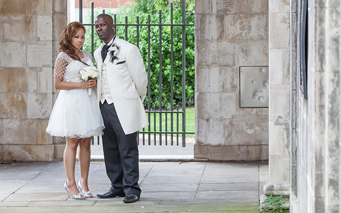 Wedding Photography - Birmingham Peace Gardens