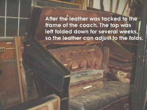 Adjusting the leather