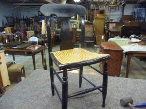 Chair Black Windsor (2)