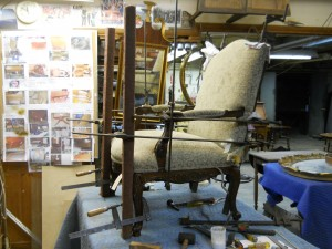 Chair, Upholstered Clamping (3)