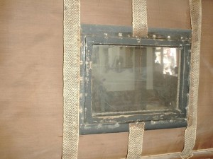 Window and webbing close