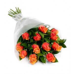 Bangkok Orange Roses bouquet