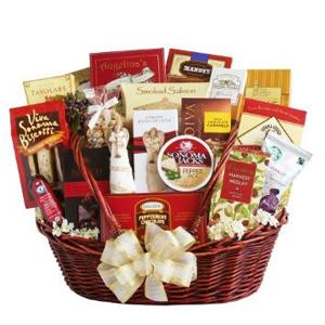 Super Indulgence Christmas Basket