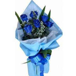 Blue Elegant Roses