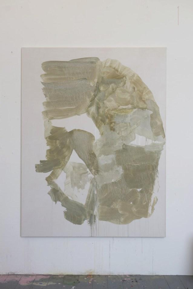 mask, 2015, 145cm *, pigment on canvas