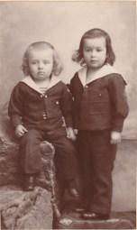 Evariste et Henri Chancel - Tués en 1914 - Collection Charles de Raphélis-Soissan