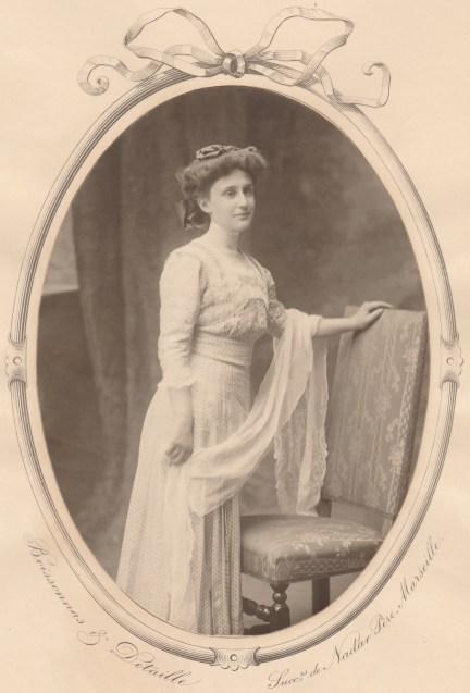 Flavie Chancel (Mme J. Rozan) - Collection Charles de Raphélis-Soissan