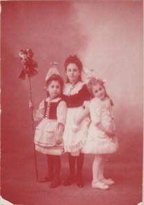 Louise, Flavie et Cécile Chancel (Mmes Franc, Rozan, de Raphélis-Soissan) - Collection Charles de Raphélis-Soissan