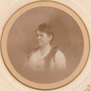 Louise Chancel (Mme Raphaël Blanchard) - Octobre 1917 - Collection Marie-Nicole Sauton