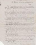 1876-02-16 - Evariste Chancel - Lettre au rédacteur de la Constitution - Collection Charles de Raphélis-Soissan