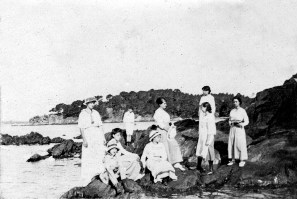 Bord de mer - Août 1916