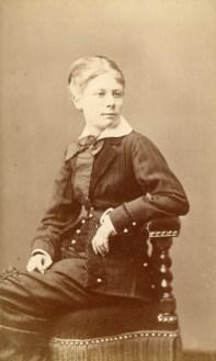 Marie Caire (Née le 14 juin 1864, morte le 26 février 1882)
