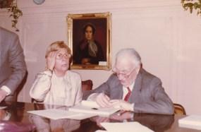 Cousinade Chancel du 21 mars 1981 : Mimi Lapeyre, Jean Perraud