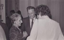 Cousinade Chancel du 21 mars 1981 : Lucienne Bourgin, François Rozan, Lucienne Franc