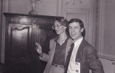 Cousinade Chancel du 21 mars 1981 : Danièle Guillemot, Philippe Guillemot