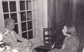 Cousinade Chancel du 21 mars 1981 : Colette Guillemot, Catherine Labbé