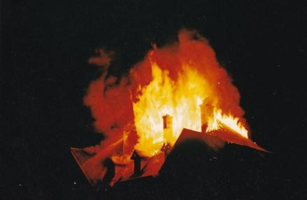 Incendie du Chalet Chancel à Briançon Sainte Catherine