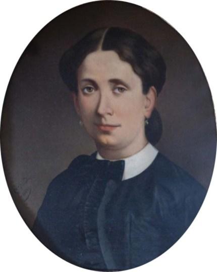 Sidonie Bérard du Pithon (1805-1853) par Giovanni Donadio en 1884