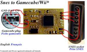 N64SnesNes controller to gamecubeWii conversion project