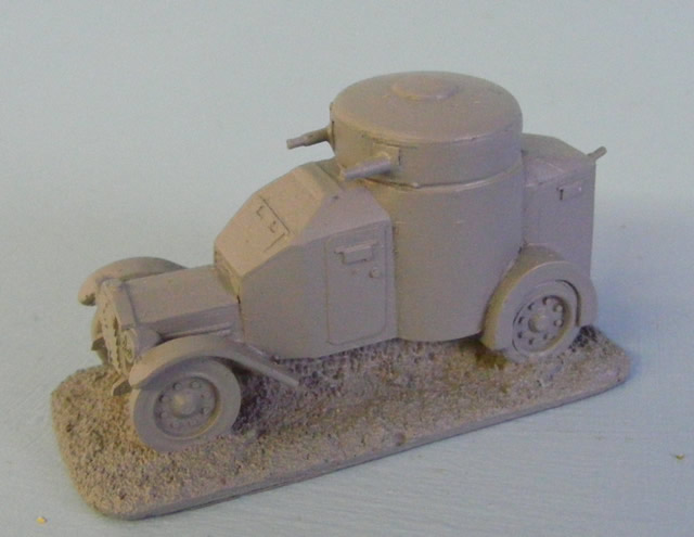 WWII French & Italian Vehicles