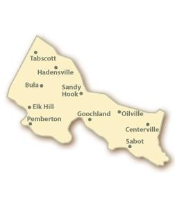 Goochland County VA Map