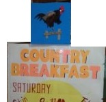 Country Breakfast Sign