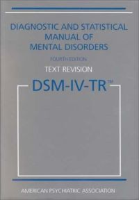 Book cover of DSM-IV-TR