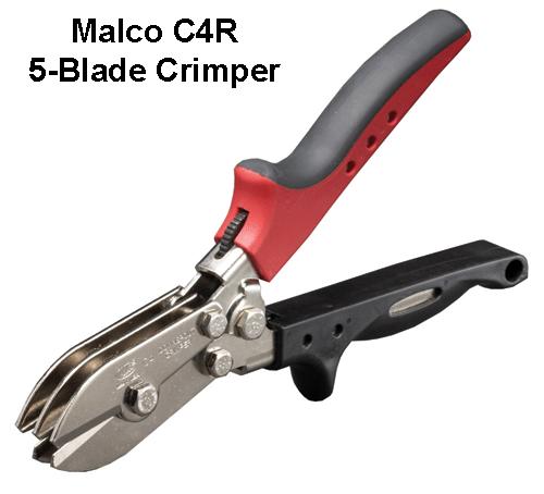Malco C4R 5-Blade Crimper