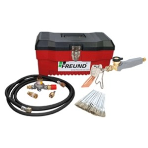 Soldering Freund Standard Kits with Express Propane Soldering Irons