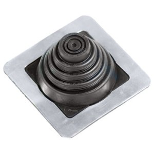 No 1 EPDM Square Base Pipe Boot