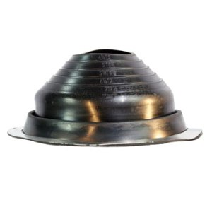 No 5 EPDM Universal Round Base Pipe Boot