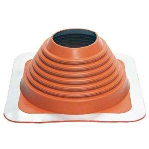 No 6 Silicone Square Base Pipe Boot
