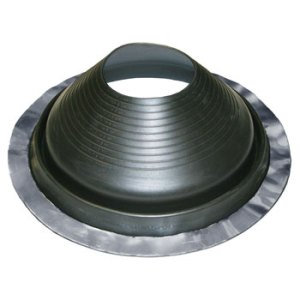 No 8 EPDM Universal Round Base Pipe Boot