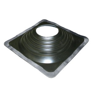 No 9 EPDM Square Base Pipe Boot