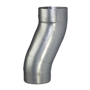 """3.1"""" Galvanized Downspout Offset"""