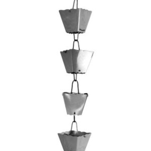 Stainless Steel Rain Chain Square Cup