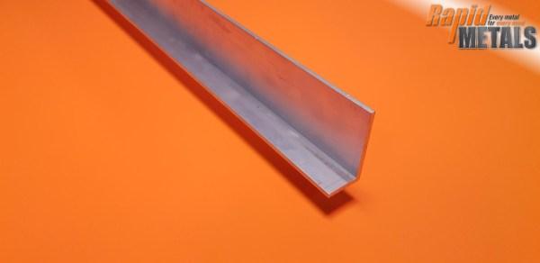"""Aluminium Angle 6"""" x 3"""" x 6.4mm"""