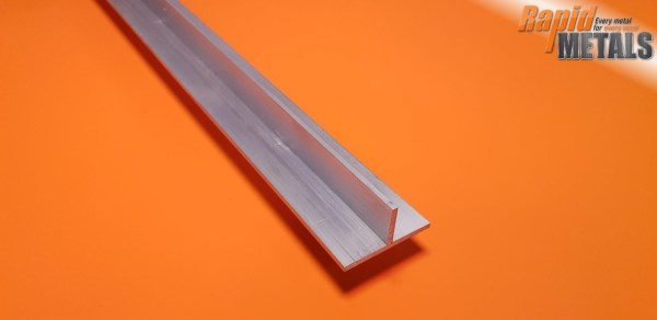 "Aluminium Tee Section 3/4"" x 3.2mm Wall"