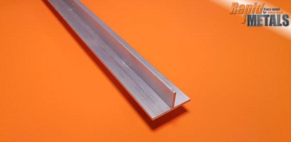 "Aluminium Tee Section 1.1/2"" x 3.2mm Wall"