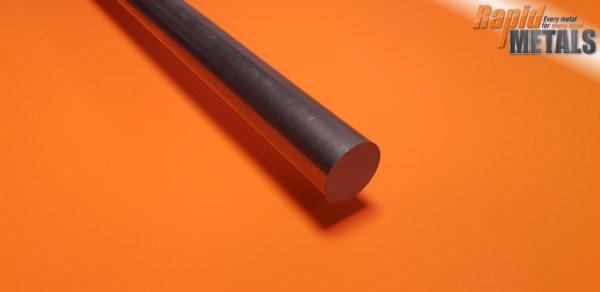"""Bright Mild Steel (080a15) 1/4"""" Round"""