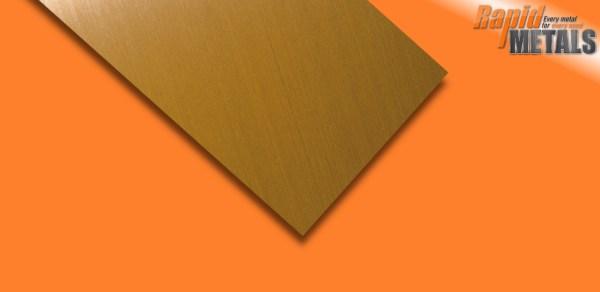 Brass Sheet 2.5mm