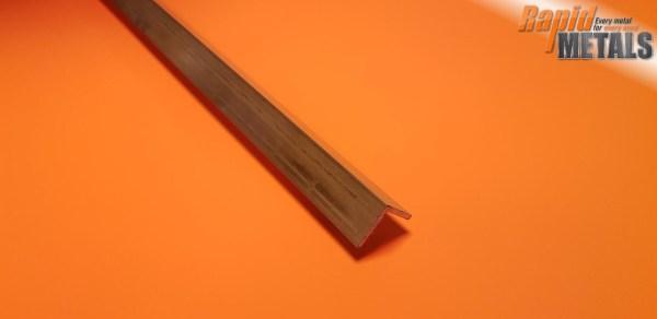 Brass Angle 12.7mm x 12.7mm x 1.6mm Wall