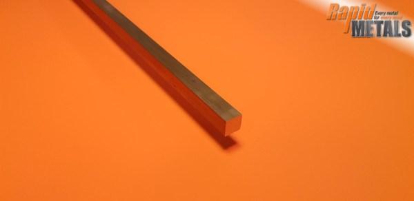 Brass Square 25.4mm