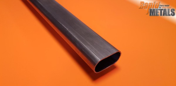 Mild Steel ERW Oval Tube 60mm x 30mm x 2mm Wall