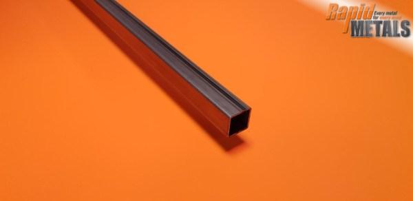 """Mild Steel ERW Box 1.1/4"""" x 1.1/4"""" x 1.6mm Wall"""