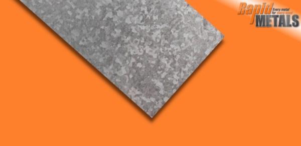 Mild Steel Galv Sheet 3mm